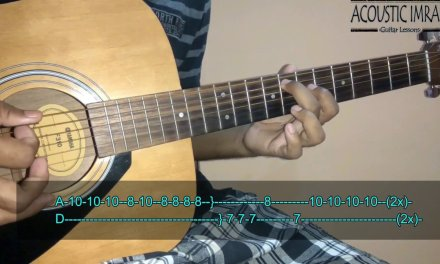 Saanson Ki Jarurat Hai Jaise Guitar Tabs/Lead Lesson   Aashiqui   By Acoustic Imran