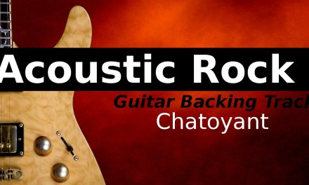 Acoustic Backing Track Jam in Em
