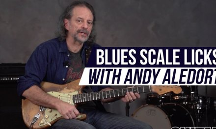 Blues Lesson – Blues Scale Licks using Major Thirds with Andy Aledort