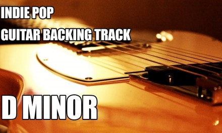 Indie Pop Guitar Backing Track In D Minor