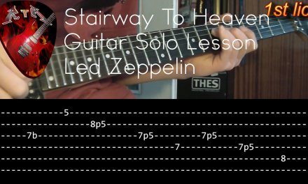 Stairway To Heaven Guitar Solo Lesson – Led Zeppelin with tabs