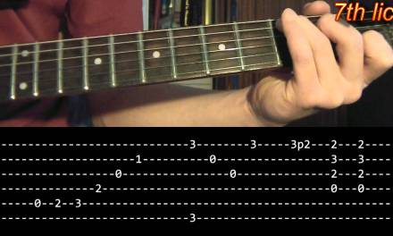 Stairway To Heaven Intro Guitar Lesson – Led Zeppelin (with tabs)
