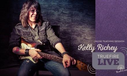 TrueFire Live: Kelly Richey – 50 Licks Squared