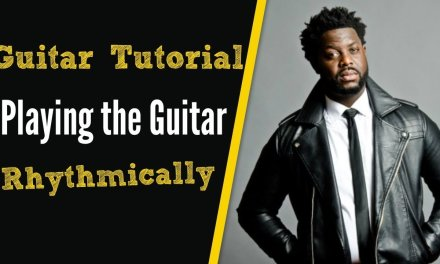 Learn How to Play the Guitar Rhythmically.  [R&B Guitar Lesson]