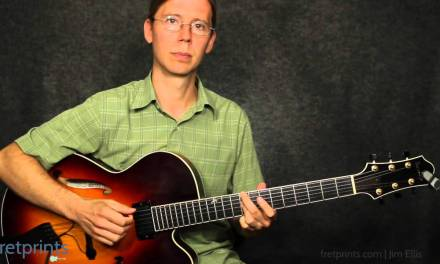 Improv Line #56: Jazz Guitar Demonstration and Play-Along.