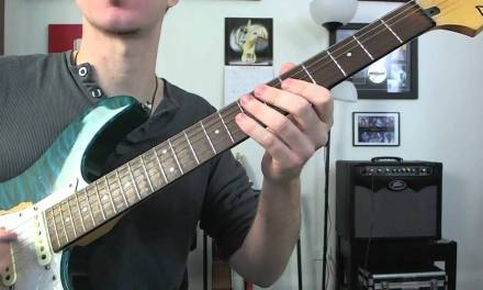 Guitar Soloing Technique – Speedy Hybrid Picking Flurry – Intermediate Electric Rock Lesson