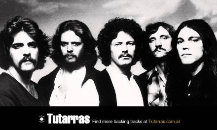 Eagles – new kid in town [Guitar Backing tracks]