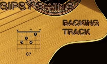 Gipsy Latin Swing Jazzy Backing Track A minor