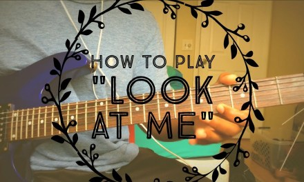 XXXTentacion – Look At Me – Guitar Cover/Tutorial