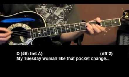 Lucy Mae Blues – Fun Song Guitar Tutorial – Buddy Guy