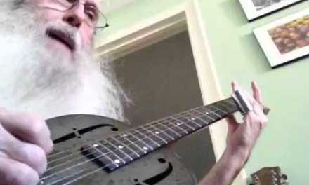 Guitar Lesson. Preaching Blues Open D Tuning.