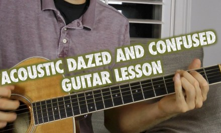 Acoustic Dazed and Confused Guitar Lesson