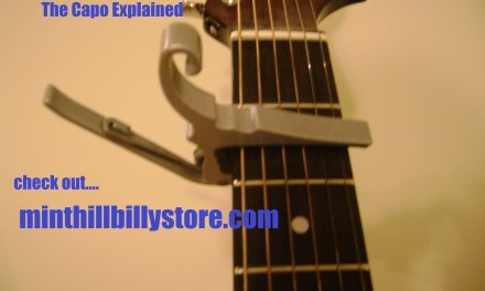 How to : Guitar Lesson – The Capo explained