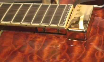 Dot On Shaft Carparelli Jazz Box Guitar