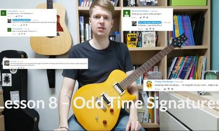 5/4 Meter – 5/4 Time Signature Guitar Lesson