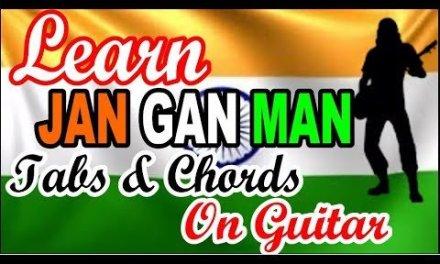 Jan Gan Man | National Anthem | Easy Guitar Lesson