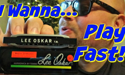 How To Play Fast Harmonica | Beginner Blues Harp Lesson