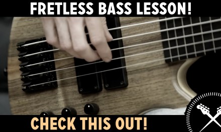 Fretless Bass Lesson with ScottsBassLessons