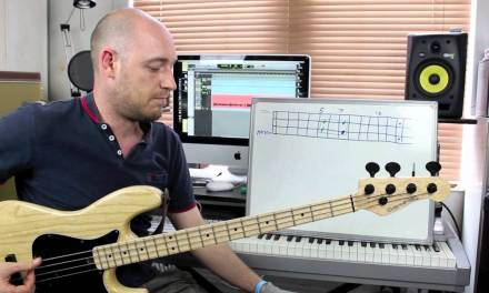 Using Simple Shapes to Create Bass Lines – Lesson with Scott Devine (L#70)