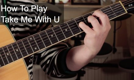 'Take Me With U' Prince Acoustic Guitar Lesson