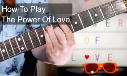 'The Power Of Love' Huey Lewis & The News Guitar Lesson