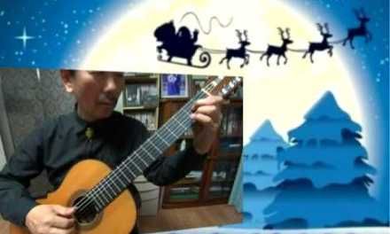 Santa Claus Is Comin' To Town – Classical Guitar – Played,Arr.-DONGHWAN_ NOH