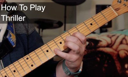 How to Play: 'Thriller' Michael Jackson Guitar Lesson