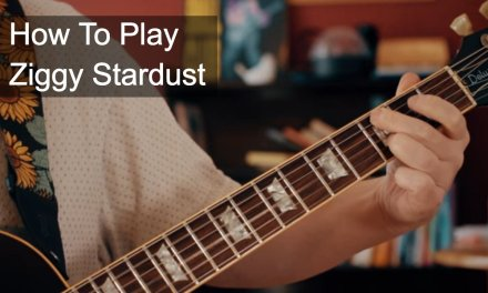 Ziggy Stardust Guitar Tutorial