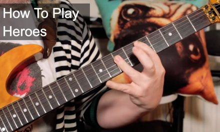 'Heroes' David Bowie Guitar Lesson