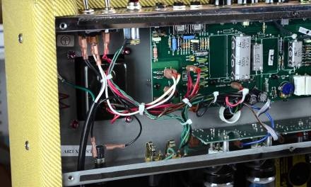 Fixing a fender guitar amp power problem