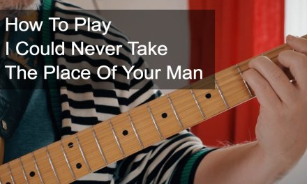'I Could Never Take The Place of Your Man' Chords – Prince Guitar Tutorial