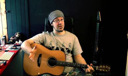Acoustic Guitar Lesson – Idle Hands By Rob Chapman