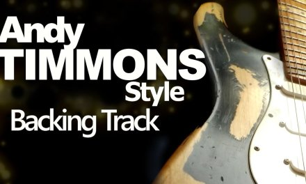 Rock Andy Timmons Style Guitar Jam Track – 97 Bpm