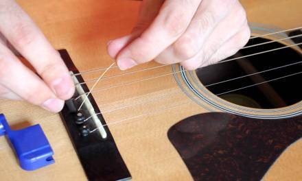 How to Change an Acoustic Guitar String, EASY!