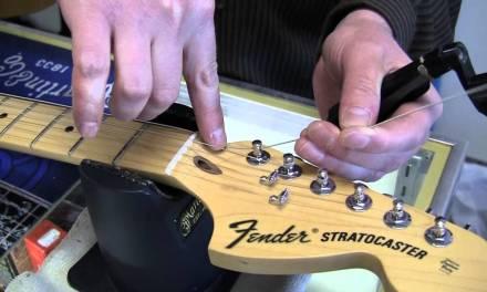 Restringing an Electric Guitar