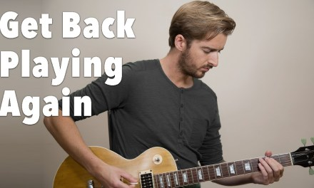 Tips For Getting Motivated To Start Playing Guitar Again