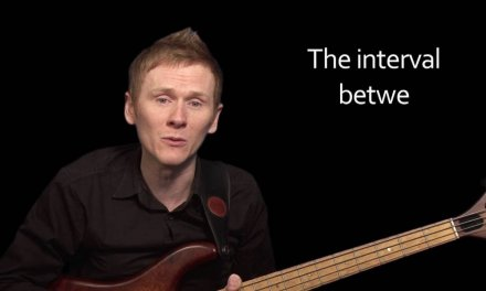 Learn Bass Lesson – The Major Triad and how Scales are linked to Chords