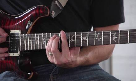 Minor Arpeggios – Learn The 5 CAGED Shapes – Rhythm Guitar Lesson