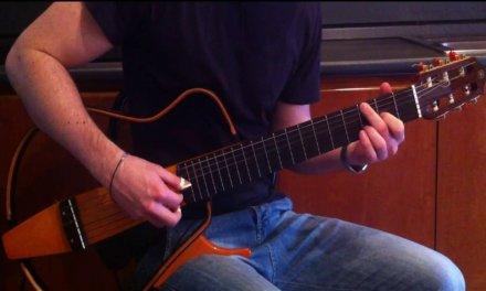 I giorni – Ludovico Einaudi – Guitar solo