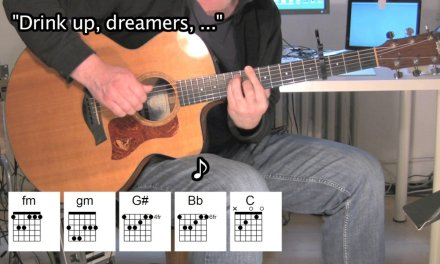Here Comes The Flood – Acoustic Guitar – Peter Gabriel