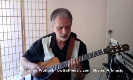 Solo jazz guitar lesson 1 – Environments Part 1