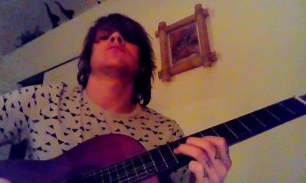 Classical guitar shred in phrigian