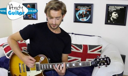 Rockin' All Over The World Guitar Lesson – Status Quo/ John Fogerty
