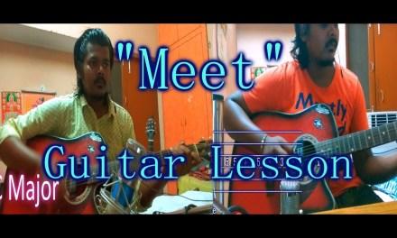 Arijit Singh: Meet Song | Simran | Guitar Chords Lesson | Arijit Singh | Akshat | Iconoclast | 2017