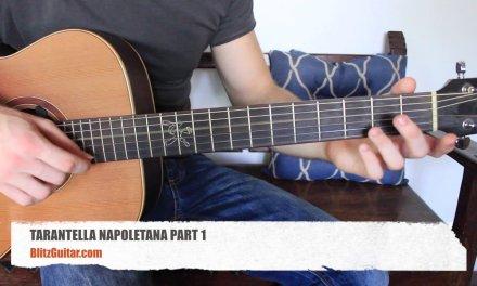 Tarantella Napoletana Acoustic Guitar Lesson in Fingerstyle