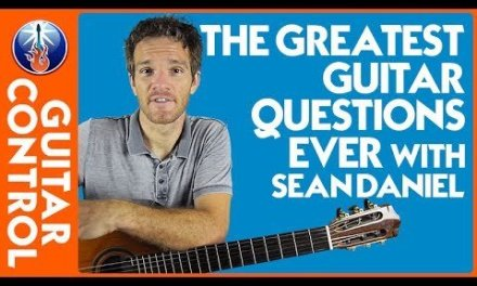The Greatest Guitar Questions Ever with Sean Daniel | Guitar Control