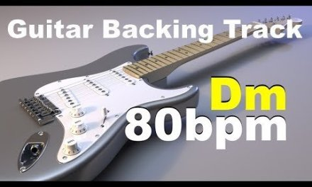 Not Epic Guitar Backing Track in D Minor