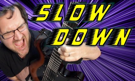 Slow Down To Play Fast