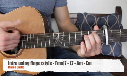 Location by Khalid Acoustic Guitar Lesson Fingerstyle