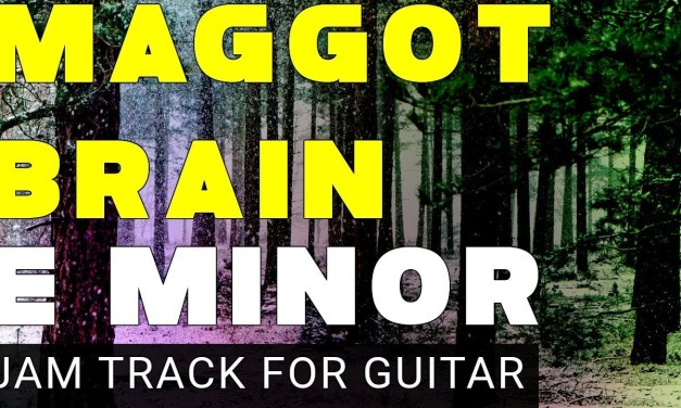 Maggot Brain Backing Track For Guitar In E Minor (Em) 15 minutes Long